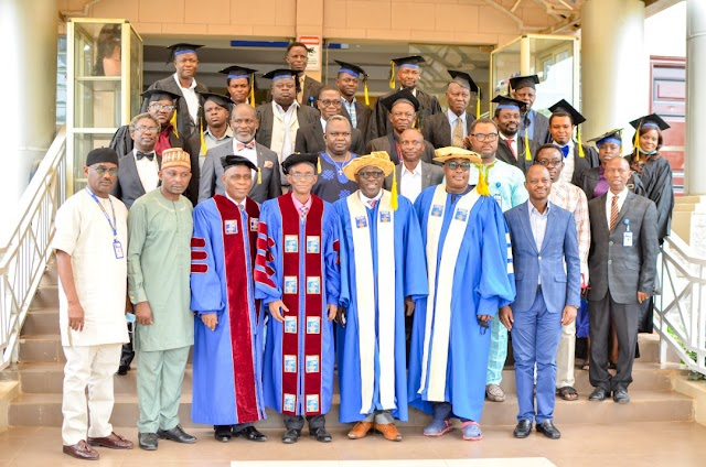 Babcock VC Lauds Nigeria's First Set of Church Admin Diplomates ~Omonaijablog