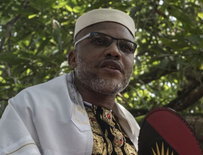 I Am Back In UK To Continue Our Work to Liberate Biafra – Nnamdi Kanu