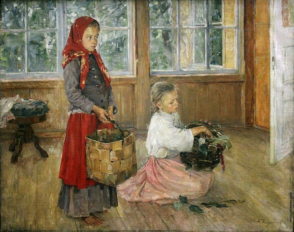 Alexey Korzukhin - Girls on the Terrace
