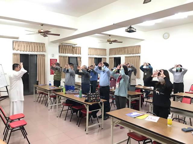 2021/01/14  ◎宇宙大道·萬真玄功◎  班別:台南市研習二班