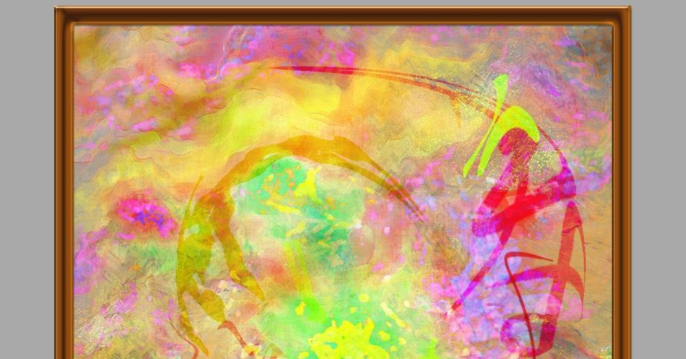 Testclod peinture num rique motif abstrait for Motif peinture