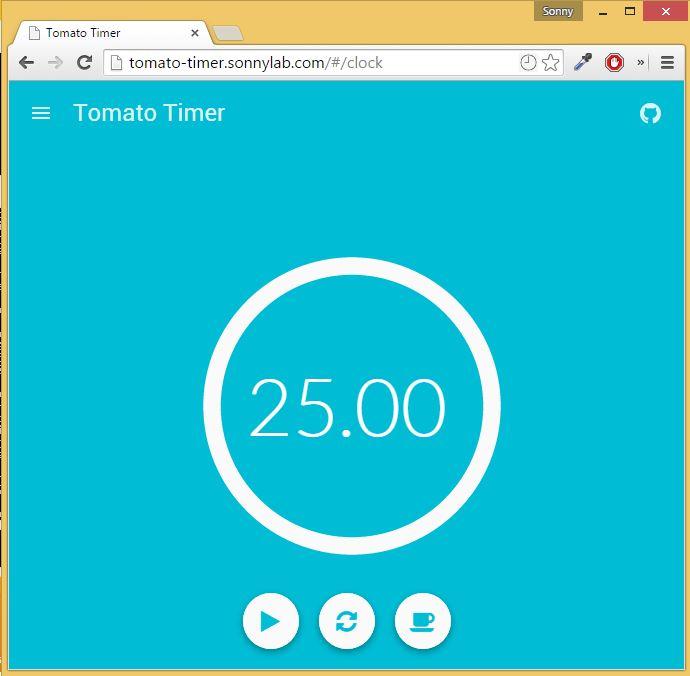Tomato Timer App - React Cordova Tutorial - Part 1 - SonnyLab