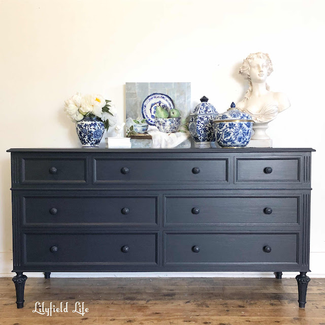 navy chest of drawers Lilyfield Life
