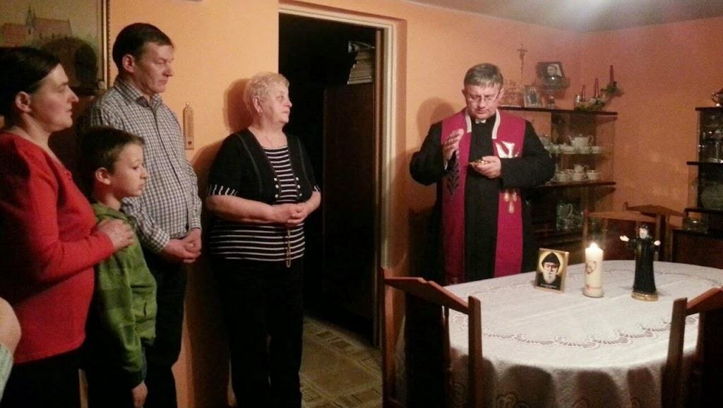 Błogosławieństwo nowego domu modlitwy