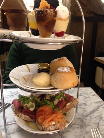 Review afternoon tea Urban Retreat Harrods