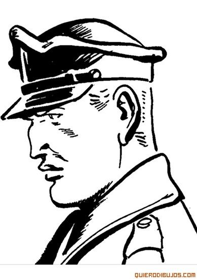 dibujo-de-policia