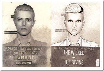 The Wicked + The Divine (David Bowie e Luci)
