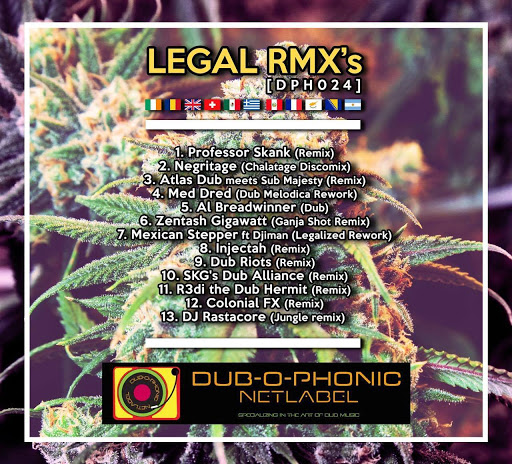 Mr Zebre Ft. Rebel-I - Legal Rmxs // Dubophonic