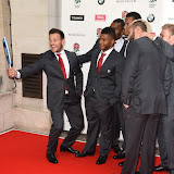 OIC - ENTSIMAGES.COM - Danny Care, Kyle Eastmond, Samesa Rokaduguni, Anthony Watson, Tom Youngs and Joe Marler at the  Carry Them Home - rugby dinner (Suits provide by Eden Park) at the Grosvenor House London 5th August 2015 Photo Mobis Photos/OIC 0203 174 1069