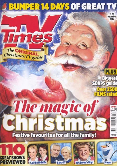 TV Times Christmas 2016