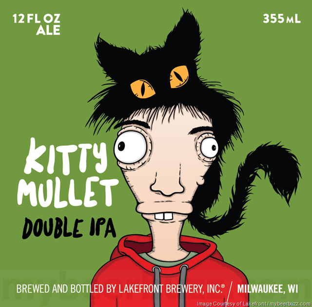 Lakefront Brewery - Kitty Mullet DIPA