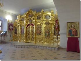 tserkov Rozhdestva iconostase chapelle latérale gauche