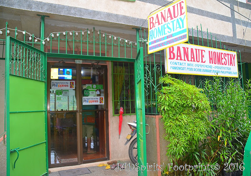 Banaue Homestay is our home for the first night of our road trip