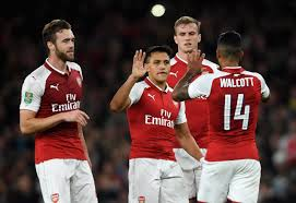 Arsenal vs Doncaster Rovers EFL Cup Highlight as Walcott hits winner for Wenger's men