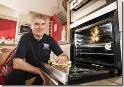 Terry with an oven prof 2
