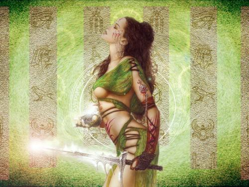 Green Witch Warrior, Green Witches