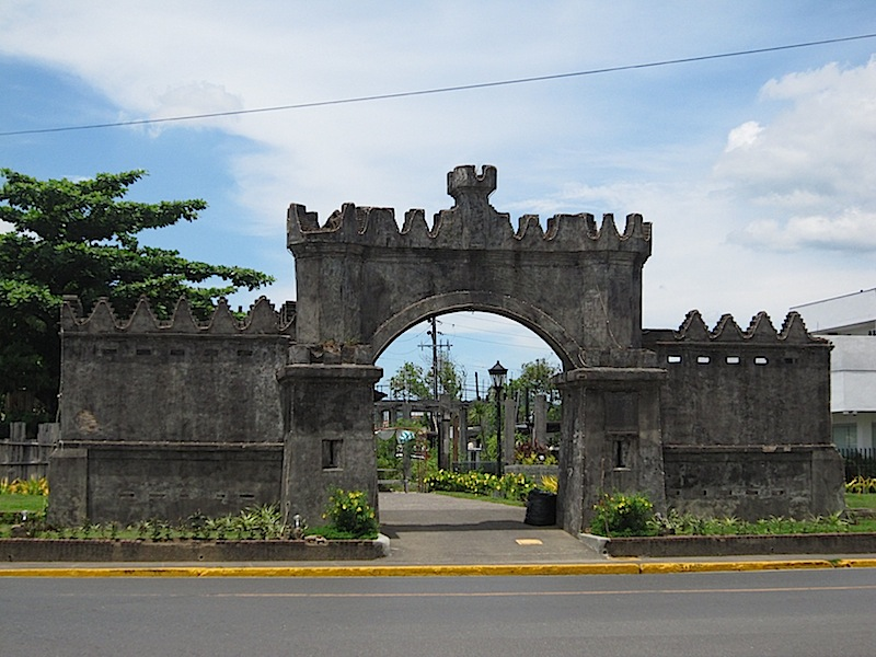 the old West or Spanish Gate at the Subic-Olongapo Base