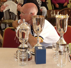 Photo: That is the trouble with four wins. A lot of silver to polish.