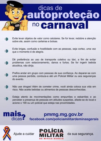 dicas carnaval