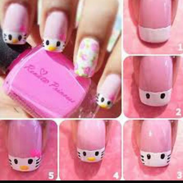Step By Step Photos Of Nail Design For Beginners Fashionist Now