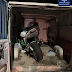 На Закарпатті вночі зупинили водія, який перевозив мотоцикл без реєстраційних документів