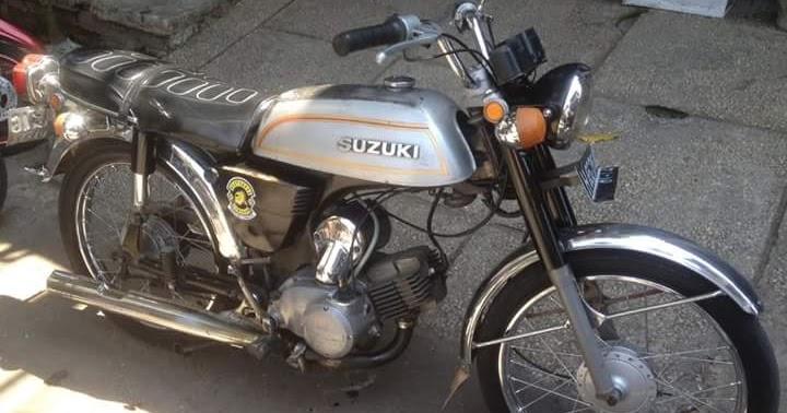 Lapak Motor Jadul 1977 Suzuki A100 - SEMARANG - LAPAK MOTOR BEKAS | MOTKAS