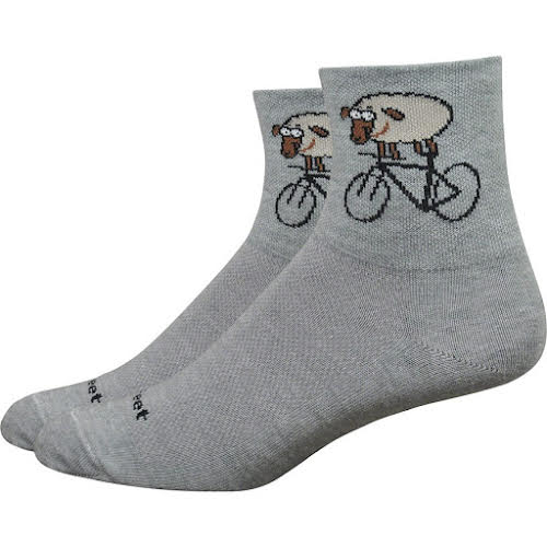 DeFeet Wooleator Comp Rad Sheep Lead Socks - 3 inch