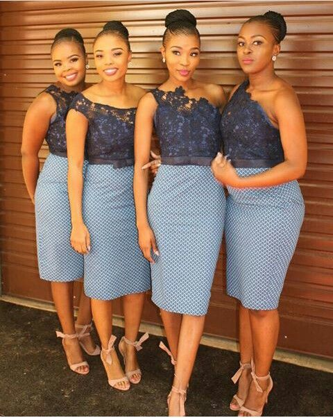 Shweshwe Dresses South Africa Styles For Woman 1