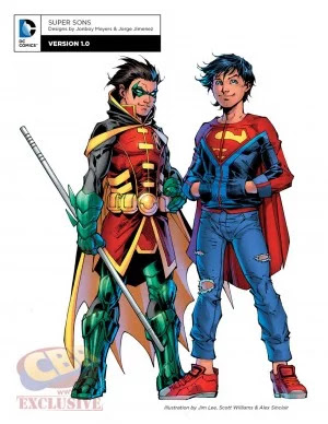 DC comics rebirth character super sons