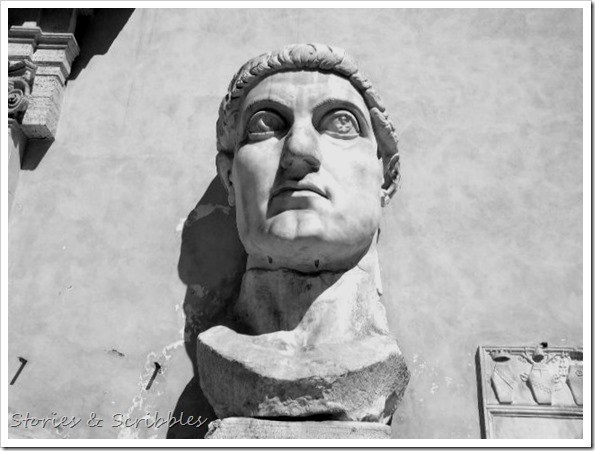 The Colossus of Constantine (Capitoline Museums, Rome)