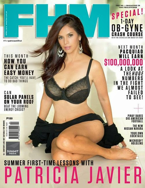 Patricia Javier – April 2015 FHM Cover Girl (PICTURE)