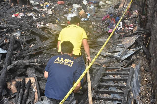 Lewat Tim Super Peduli, Supriansa Bantu Korban Kebakaran di Sewo