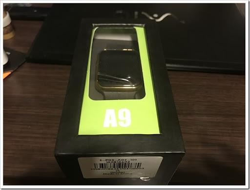 IMG 3378 thumb - 【助けて】未来のガジェット?A9 MTK2502A Smart Watchレビュー!色々とツッコミどころもあるけど決して無能じゃないスマホ連動型の携帯機!一応日本語も対応してるよ、一応ね。【腕時計/スマートウォッチ】