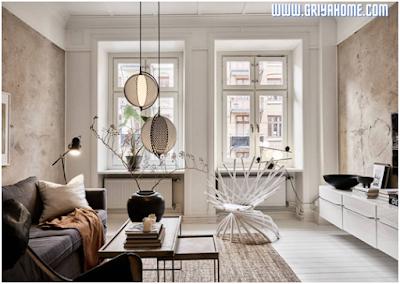 Padukan motif karpet dengan warna ruangan Anda