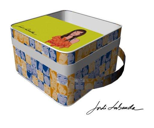 nevera amarilla de Jordi Labanda para Actimel (Danone)