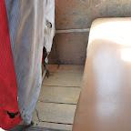 El piso de madera