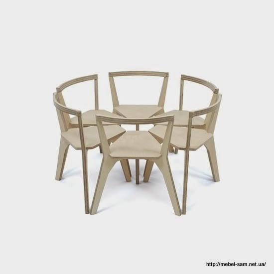 Форма сидения стула подходит для компактной расстановки стульев в общественных местах за кругоыми столами