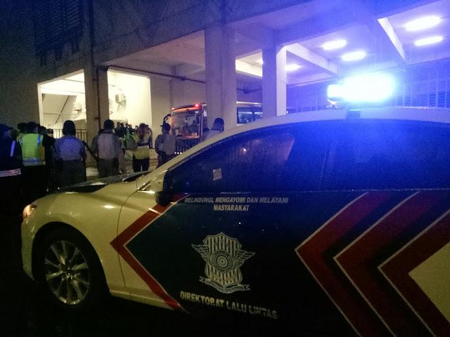 Kapolres metro bekasi jamin aman pertandingan indonesia vs syria di wibawamukti