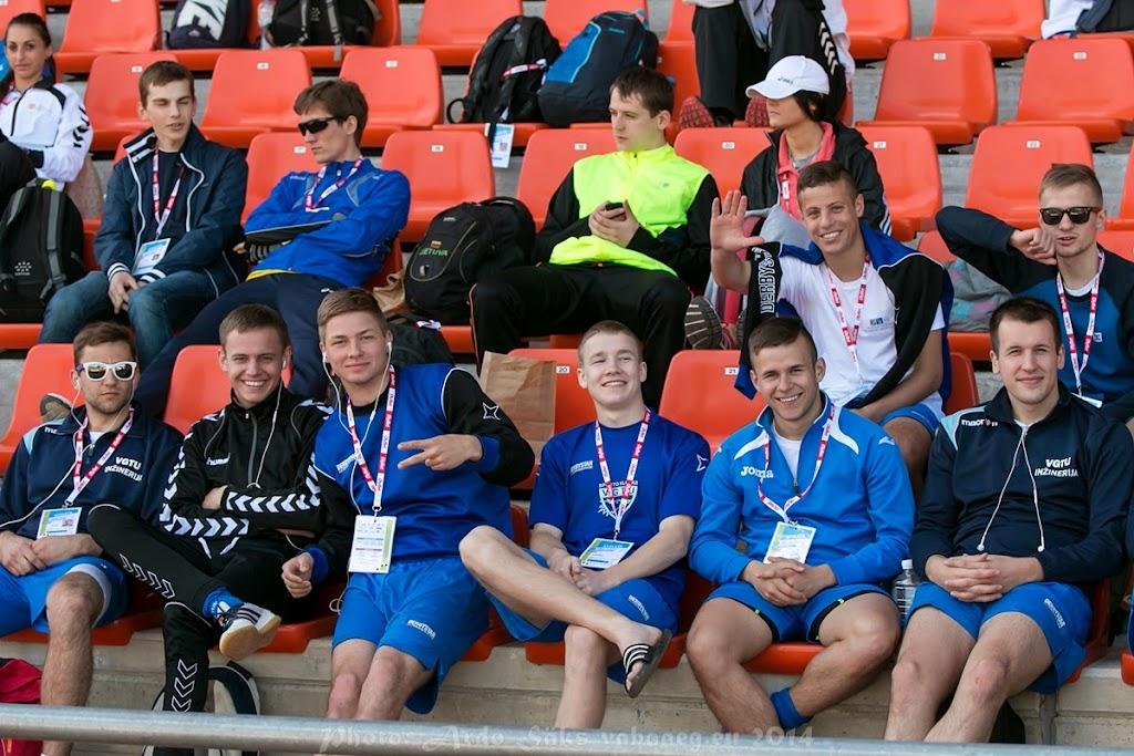XXX SELL Games - Tartu Student Games 2014, May 16: Athletics, Mini-Football @Tamme Stadium