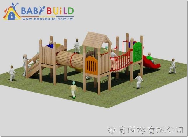 BabyBuild 木製兒童遊具