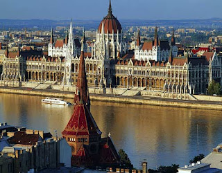 Hungary, Magyarország, Budapest, Budapest, View of the Parliament