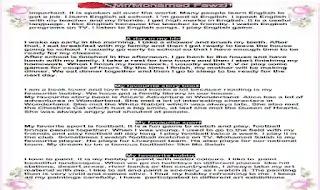 جميع باراجرافات اللغة الانجليزية الصف الاول الاعدادى ترم اول 2021 مطابقة لاخر المواصفات اعداد مستر محمد فوزي
