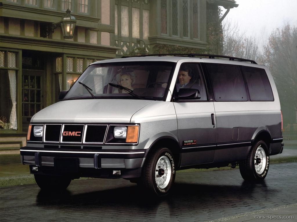 1994 Gmc Safari Cargo Minivan Specifications  Pictures  Prices