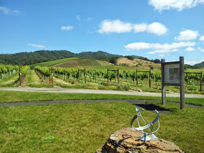 Umpqua Valley visit, Abacela Winery was peaceful