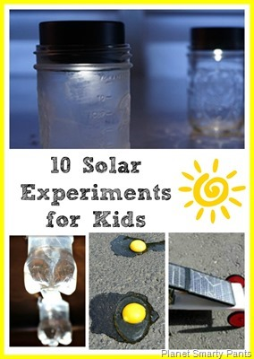 10 Solar Energy Experiments for Kids
