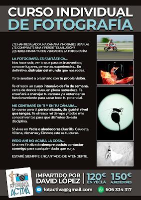 Curso Individual de Fotografía, con David López