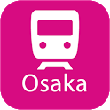 Osaka Rail Map icon