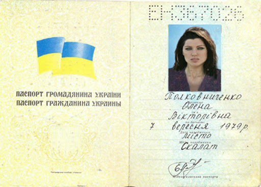 Check Ukrainian passport