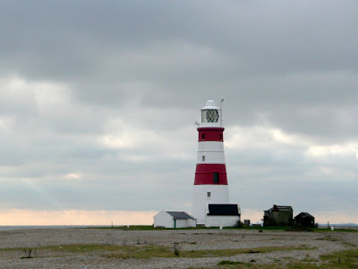 The iconic Orfordness lighthouse