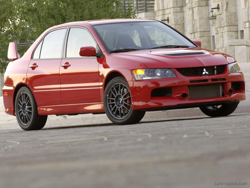 2006 Mitsubishi Lancer Evolution Mr >> 2006 Mitsubishi Lancer Evolution Sedan Specifications ...